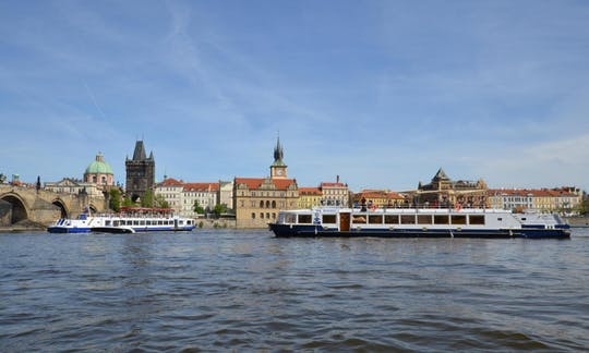 Prague lunch cruise ticket