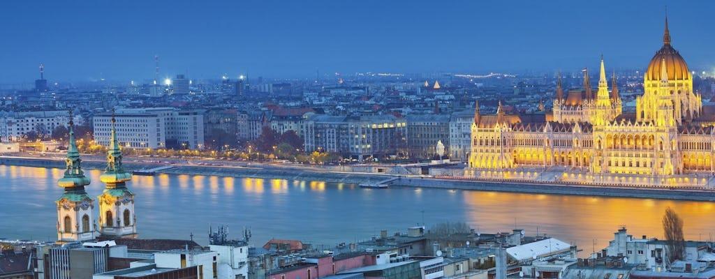 Rejs po Dunaju z kolacją i pokazem bitwy na pianina