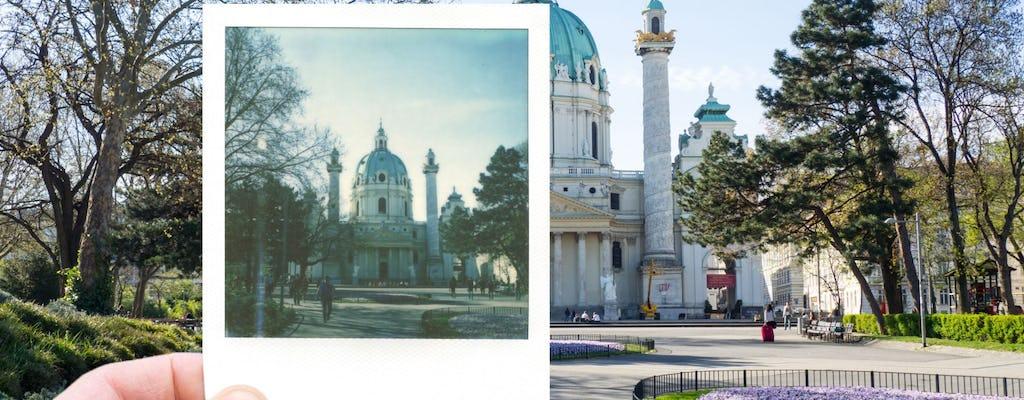 Classical photo tour with Polaroid through Vienna