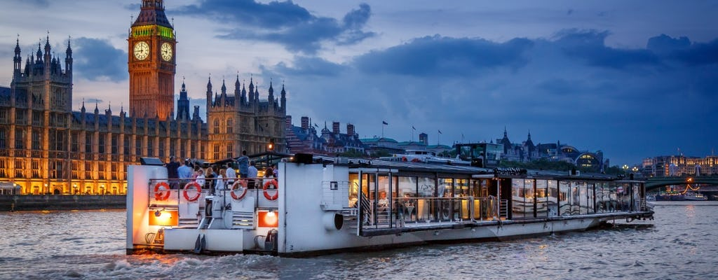 Thames River dinner cruise