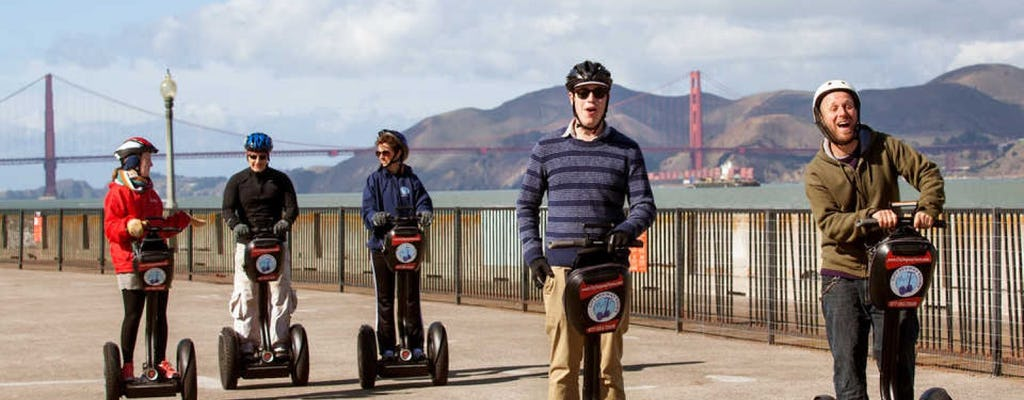 Group team building: self-balancing scooter scavenger hunt