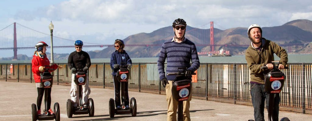 Group team building - segway scavenger hunt