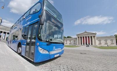 Ver la ciudad,Ver la ciudad,Ver la ciudad,Visitas en autobús,Bus Turístico por Múnich
