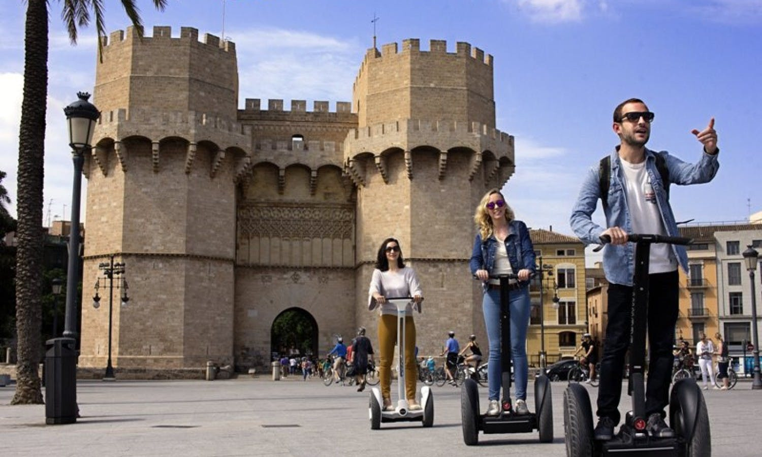 Valencia Arts and Sciences self-balancing  scooter tour