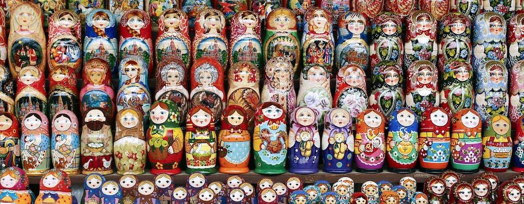 Matrioska bambola classe di pittura privata a San Pietroburgo