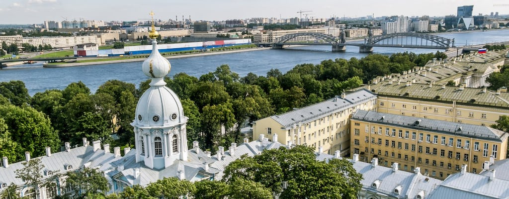St. Petersburg half-day private tour