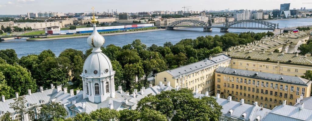 Tour privado de medio día por San Petersburgo