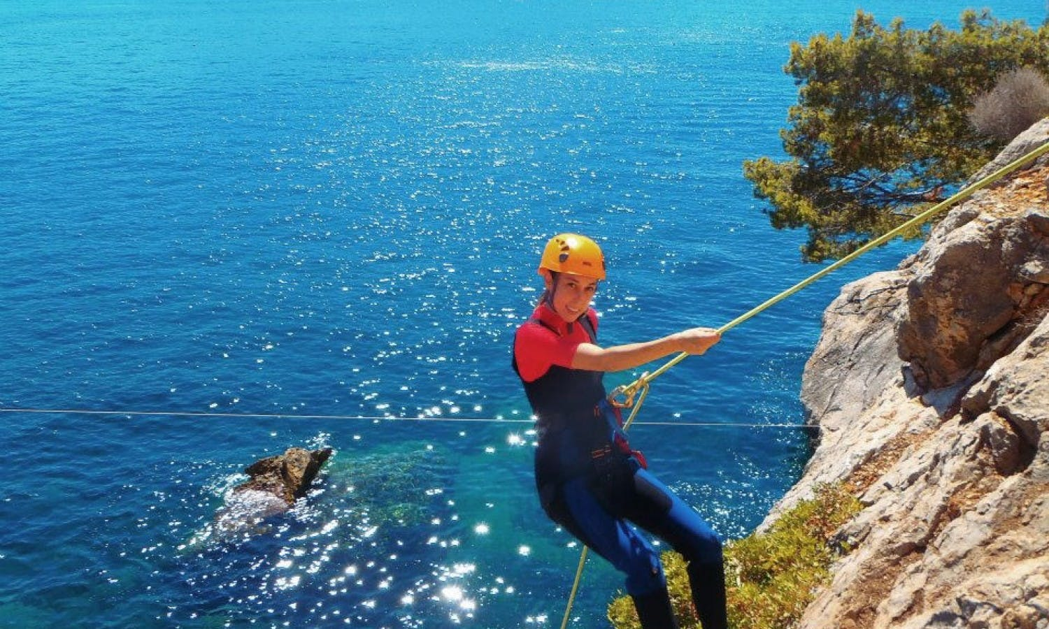 Coasteering experience in Majorca