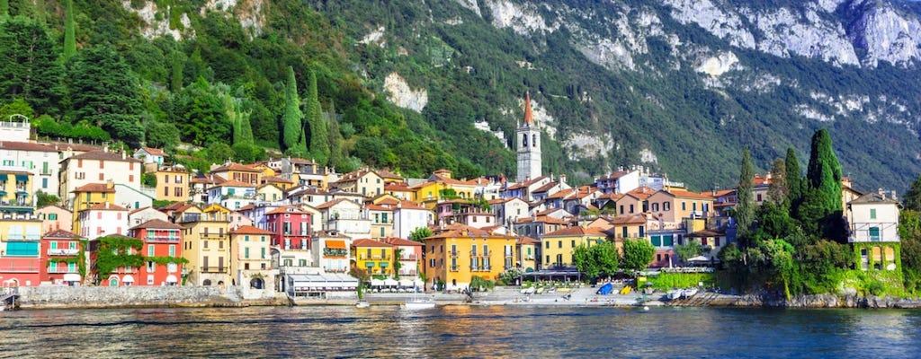 Excursión de un día al lago de Como con crucero a Bellagio