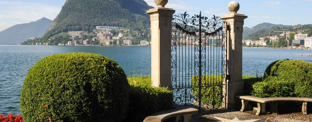 Lake Lugano and Swiss Alps day trip with cruise