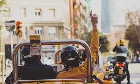 Experiencia GoCar por Barcelona