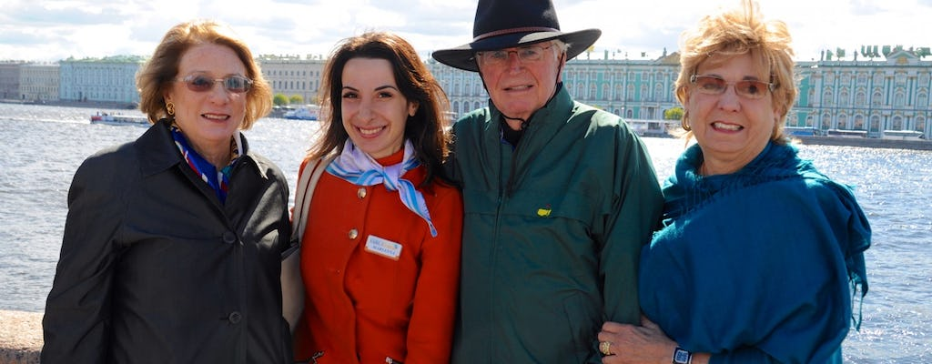 St Petersburg two-hour private orientation tour