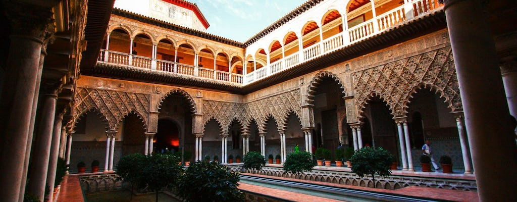Guided tour of Alcázar of Seville with skip-the-line tickets