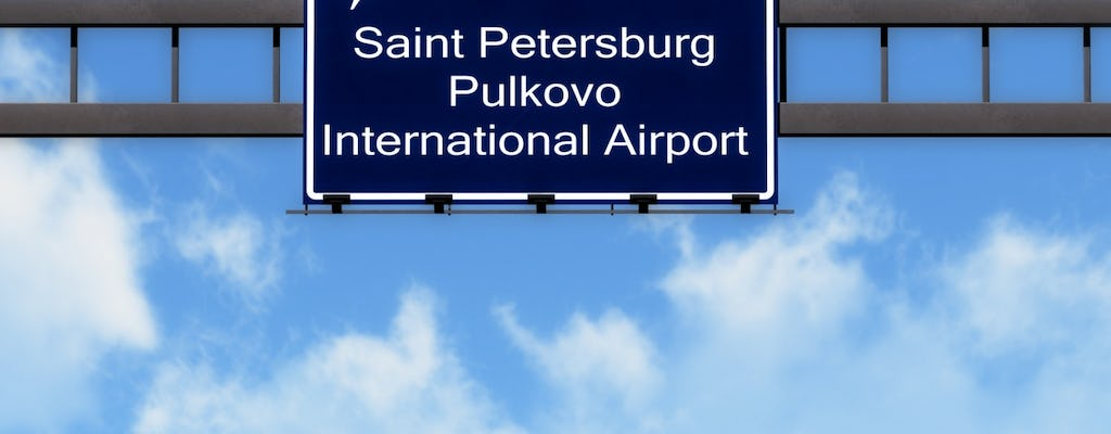 One-way or round-trip transfers from St Petersburg airport or train station