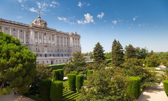 Royal Palace of Madrid skip-the-line tickets and guided visit