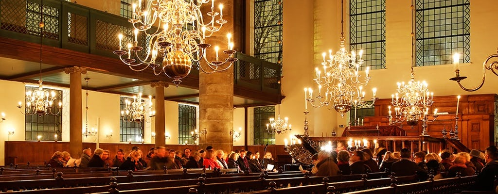 Candlelight concert at the Portuguese Synagogue in Amsterdam