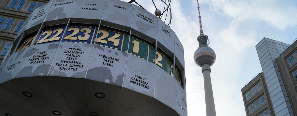 Berlin TV Tower skip-the-line tickets with inner circle restaurant seat