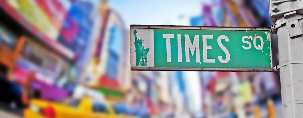Distrito de los teatros de Broadway - recorrido a pie
