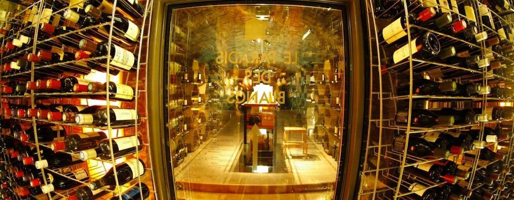 Tour of Paris historical wine cellars with wine tasting