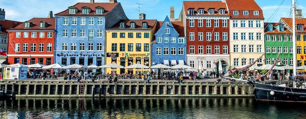 Combo de ônibus e barco hop-on hop-off de Copenhague com passeio de trem pela cidade antiga