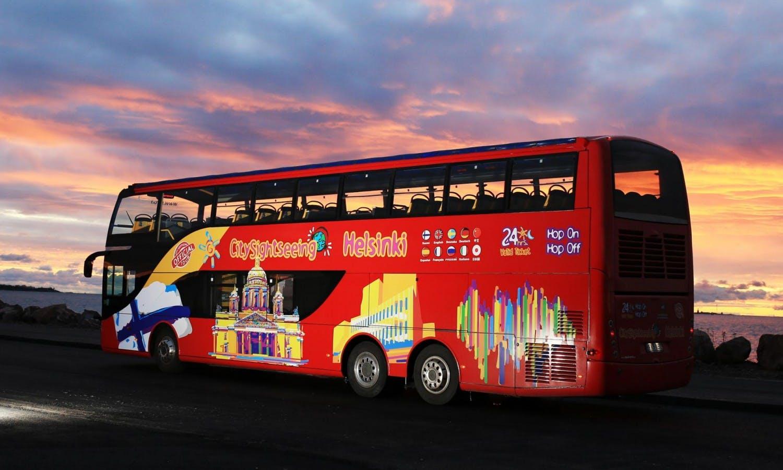 Ver la ciudad,Visitas en autobús,Tour por Helsinki