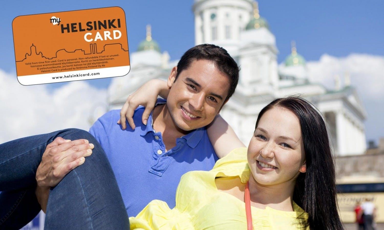Helsinki Card with city tour, transportation and museum admission