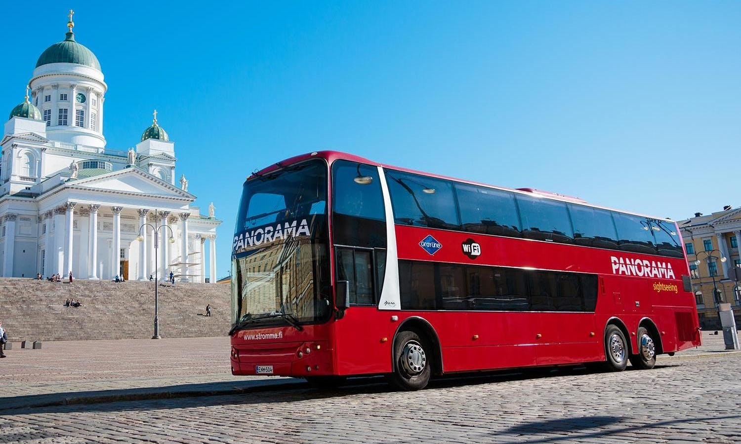 Helsinki panorama city bus tour