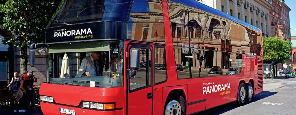 Stockholm panorama bus tour