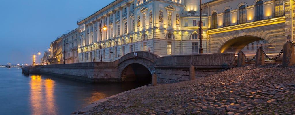 Swan Lake ballet at Hermitage Theater in St Petersburg