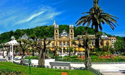 Ver la ciudad,City tours,Salir de la ciudad,Excursions,Tours andando,Walking tours,Excursiones de un día,Full-day excursions,Excursion to San Sebastian,Excursión a San Sebastián