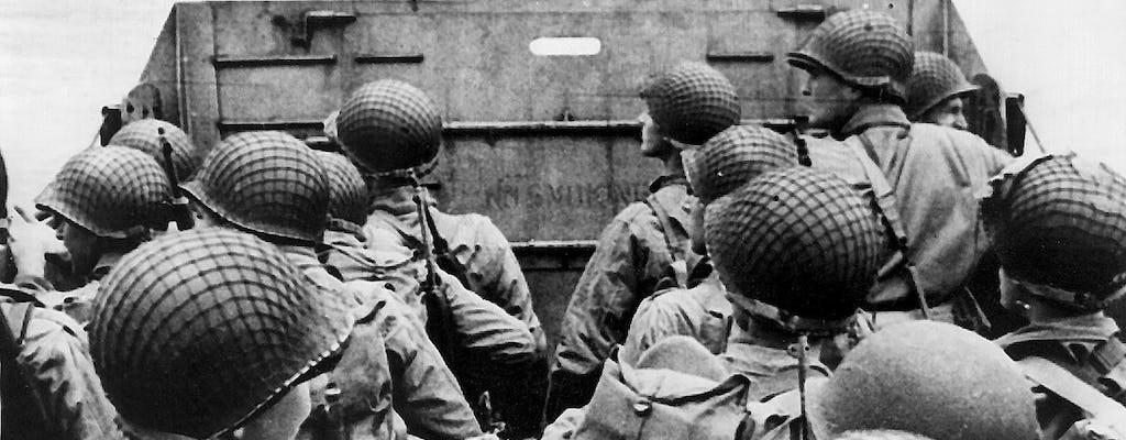 Полный день в Нормандии D-день сражений и высадки из Парижа