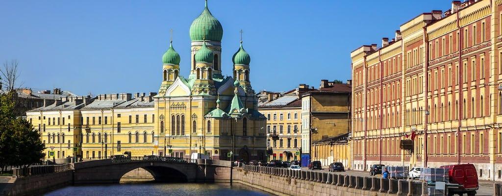 Tour di San Pietroburgo di due giorni senza visto per piccoli gruppi con Museo Fabergé