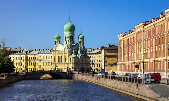 St.Petersburg shore excursion: Visa-free two-day essential small group tour with Fabergé Museum