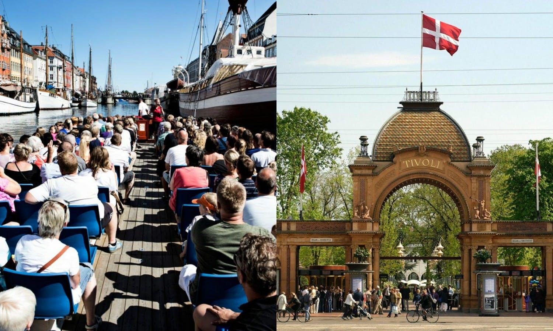 Ver la ciudad,Tickets, museos, atracciones,Parques de atracciones,Jardines Tivoli,Crucero canales de Copenhague,Con Jardines Tivoli