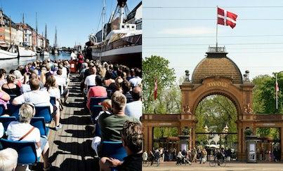 City tours,Tickets, museums, attractions,Amusement parks,Tivoli Gardens,Cruise Copenhaguen channels