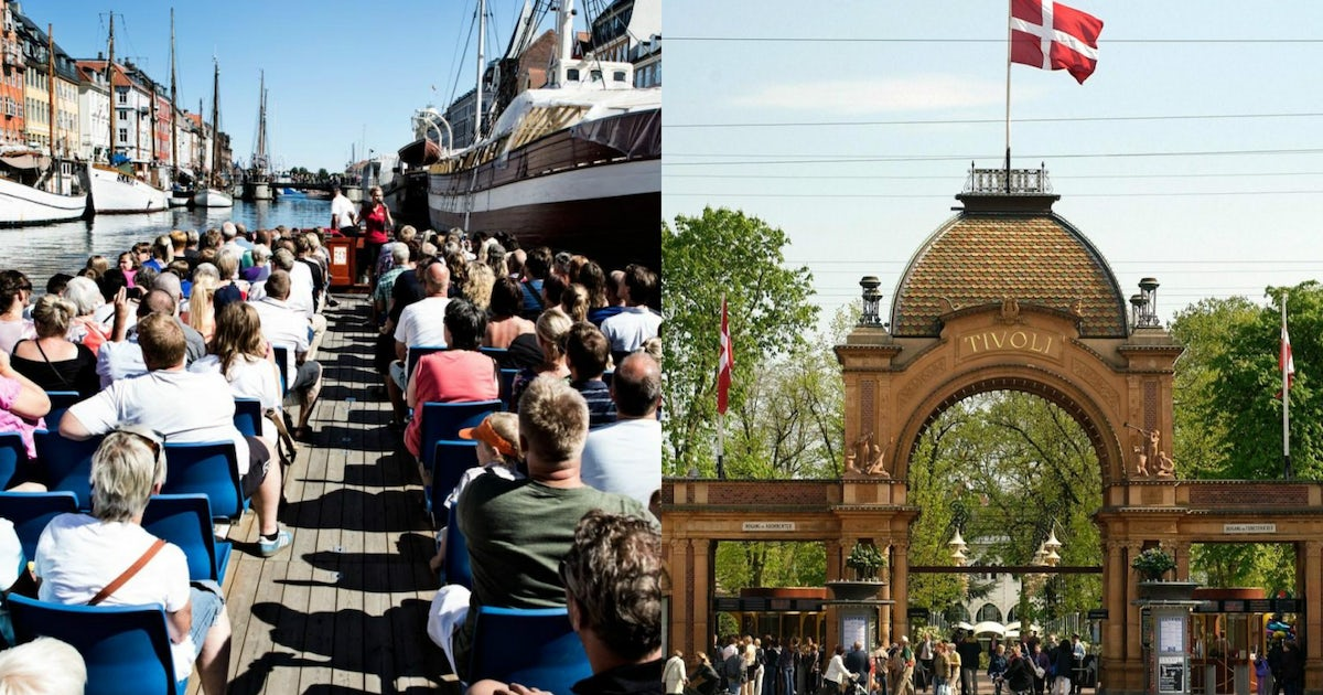 Copenhagen one-hour canal cruise tour and Tivoli Gardens skip-the-line ticket | musement
