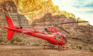 Helicopter Tour To The Grand Canyon With Boat Ride And Skywalk Tour