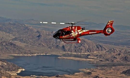 Tour in elicottero Golden Eagle West Rim con diga di Hoover e Lake Mead