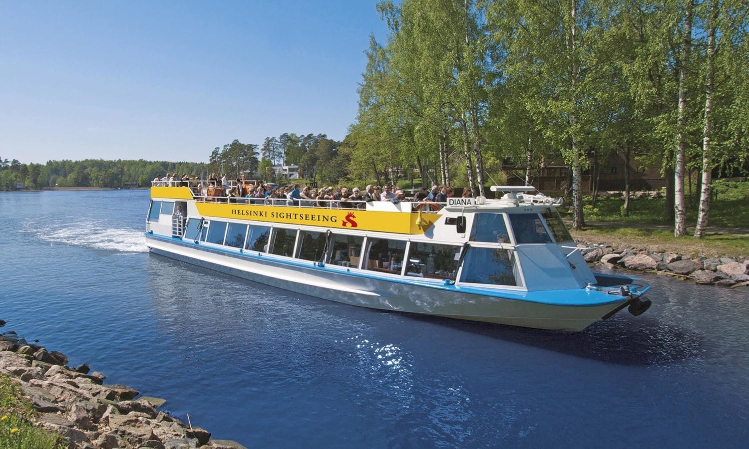 Helsinki cruise city boat tour