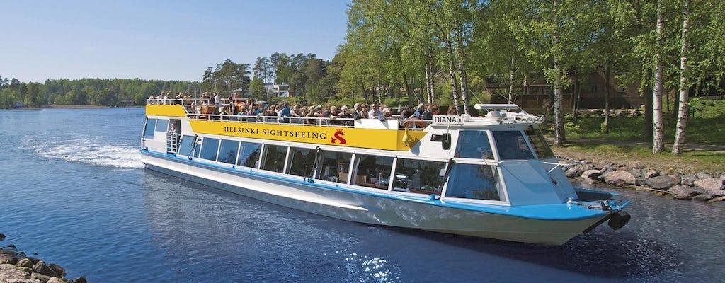 Tour en barco por Helsinki
