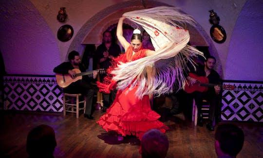 Flamenco show at Tablao Cordobés