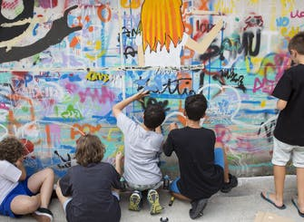 Creative sessions in Pirelli HangarBicocca: Next stop: Street Art (11 -14 years)