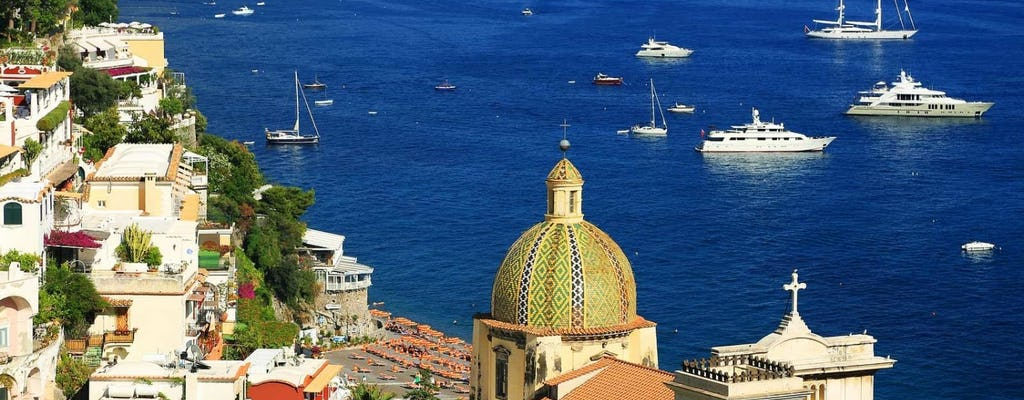Daily excursion to Sorrento, Positano and Amalfi from Naples