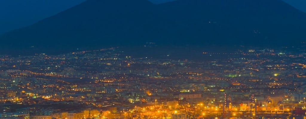Visita panorámica a Nápoles por la noche