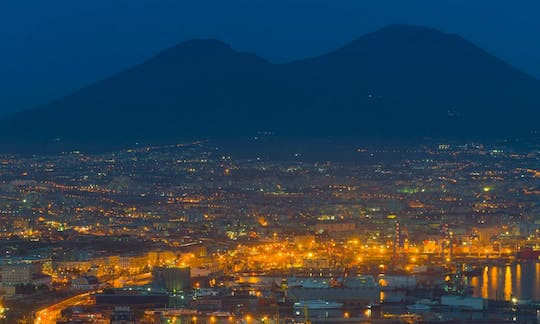 Panoramic visit to Naples by night