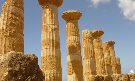 Agrigento and Piazza Armerina guided tour from Taormina