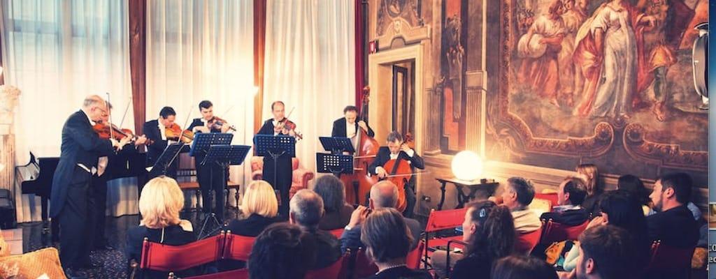 Cena in un palazzo nobiliare con musica dal vivo al Venice Music Gourmet