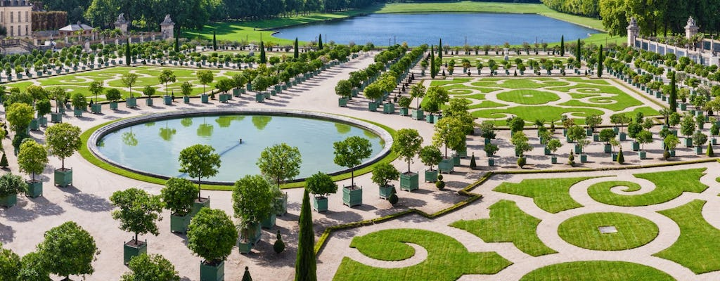 Palace of Versailles entrance tickets with audio guide and full access to gardens