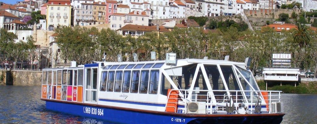 Coimbra hop-on hop-off bus tour and Mondego cruise