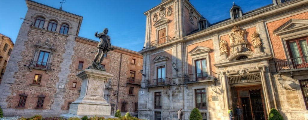 Madrid guided walking tour with fast-track entrance to the Prado Museum